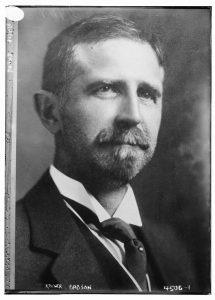 Roger Babson portrait in 1918